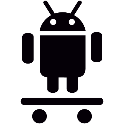Android On Skateboard logo