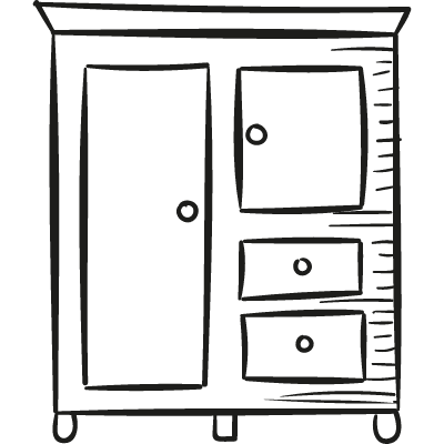 Closet with Drawers logo
