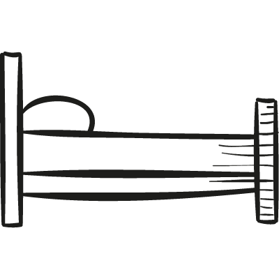 Bed Side View logo