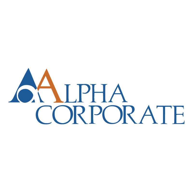 Alpha Corporate vector