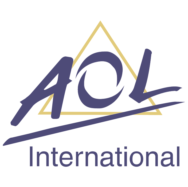 AOL international vector logo