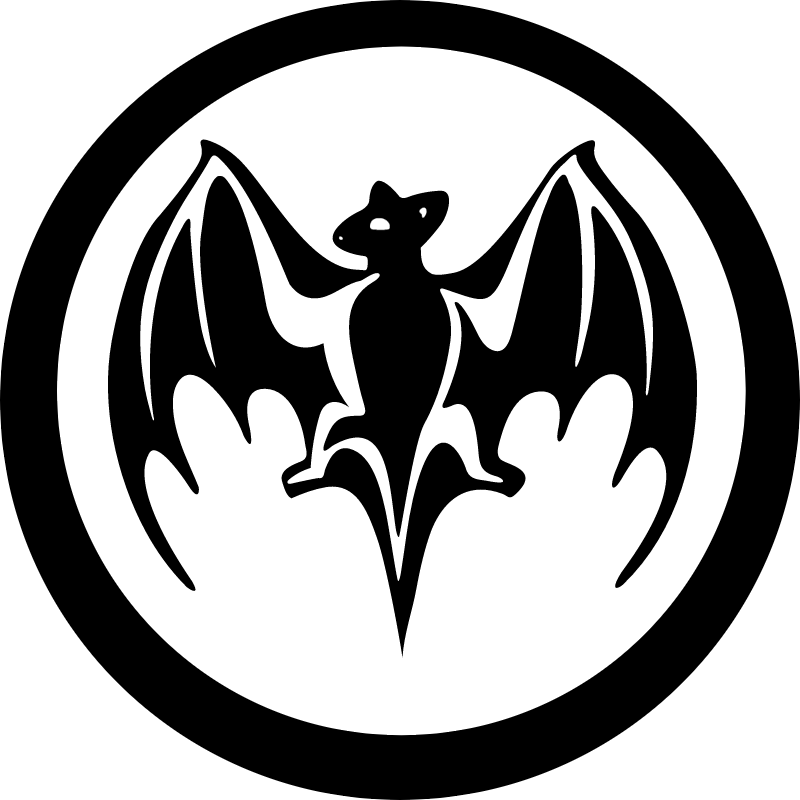 BACARDI BAT vector