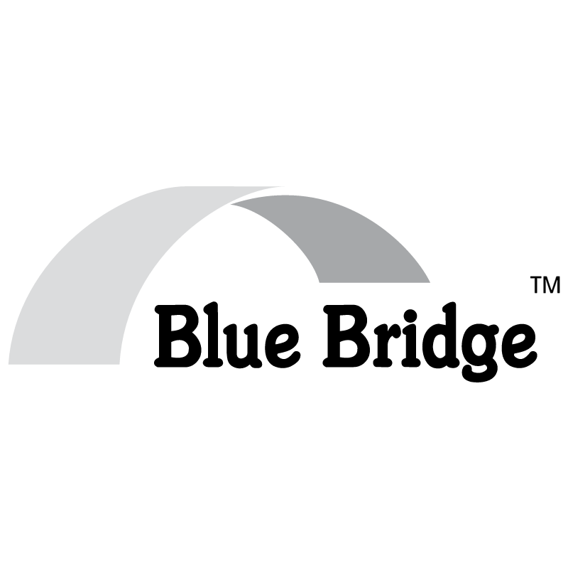 Blue Bridge vector