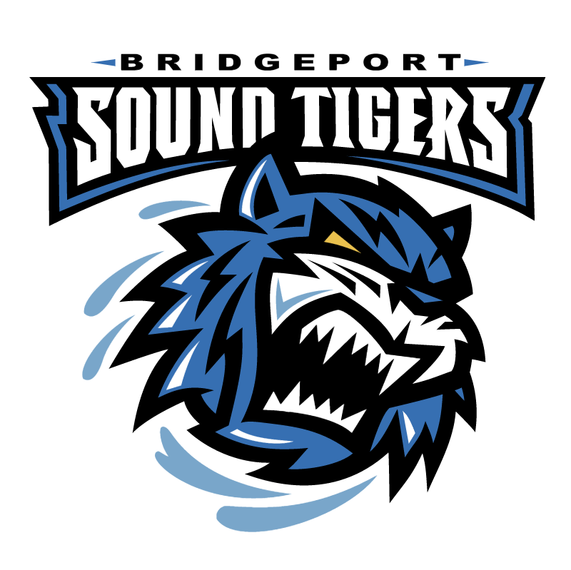 Bridgeport Sound Tigers 37556 vector