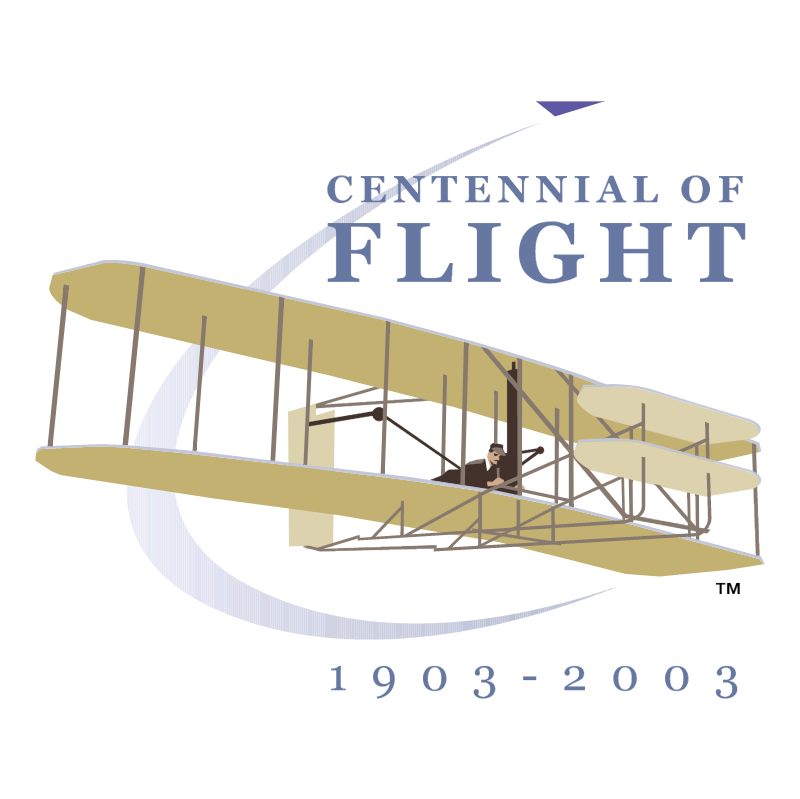 Centennial of Flight 1903 2003 vector
