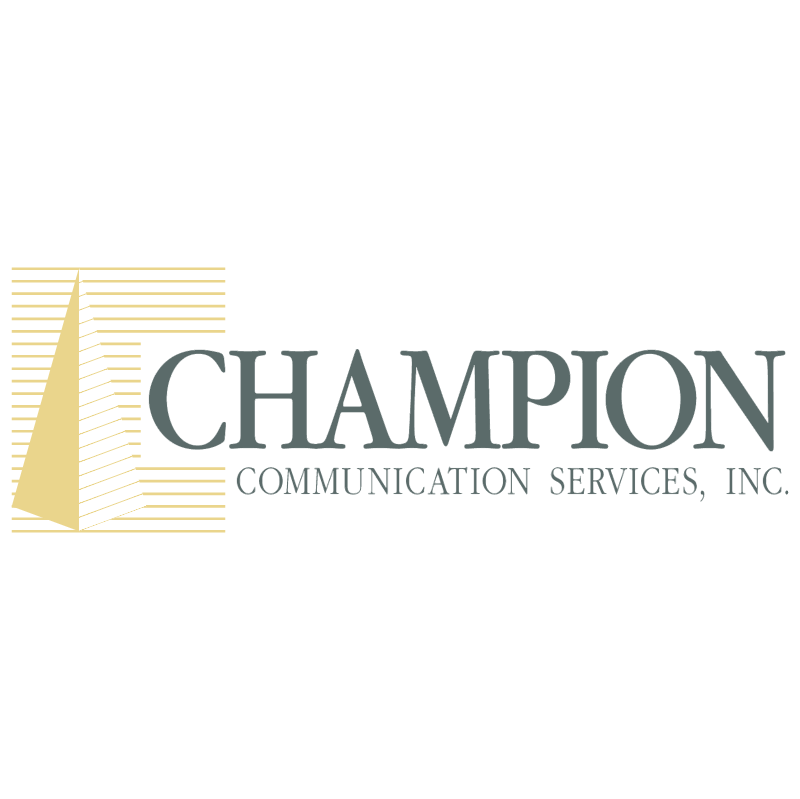 Champion Communication Services vector logo