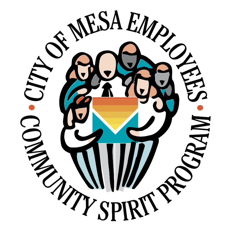 City of Mesa Employees vector