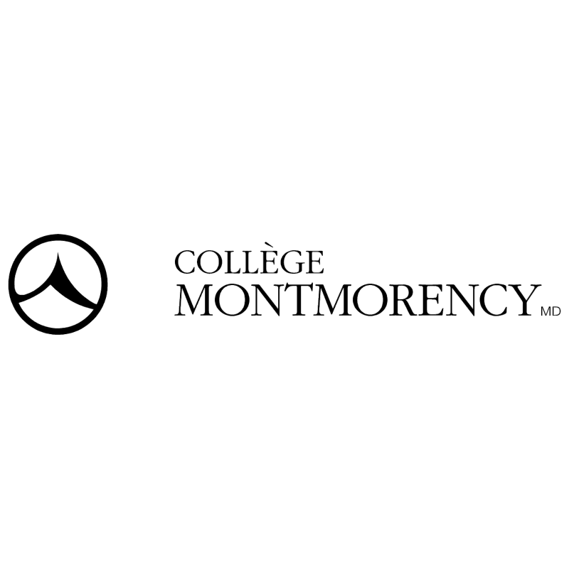 College Montmorency 1246 vector