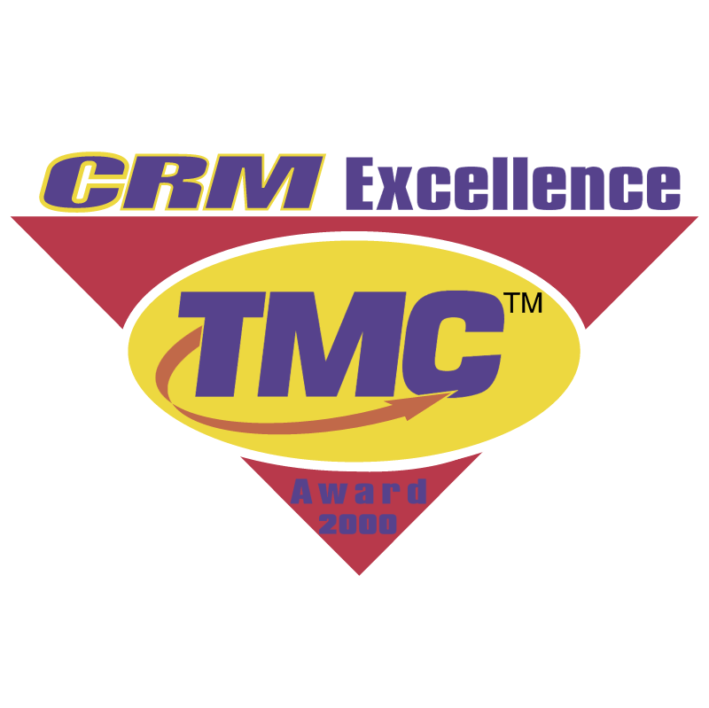 CRM Excellence Award 2000 vector logo