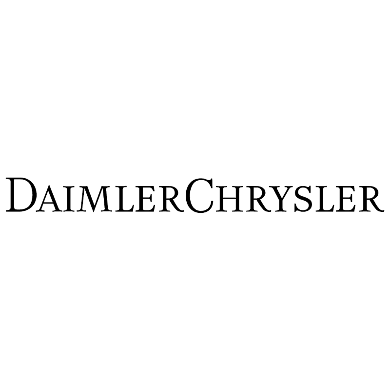 Daimler Chrysler vector logo