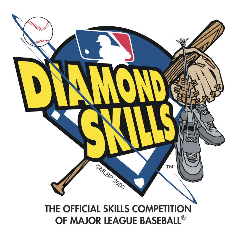 Diamond Skills vector logo