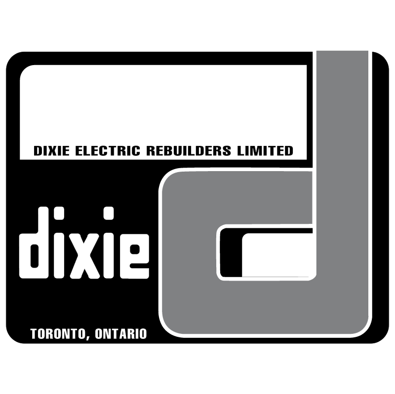 Dixie Electric vector logo