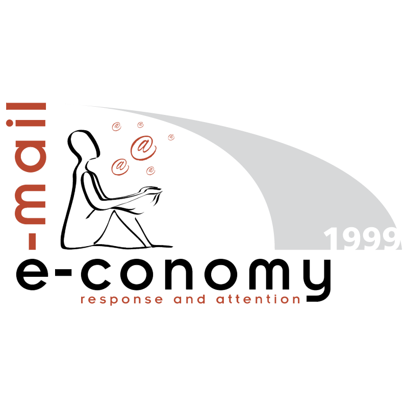e mail e conomy vector