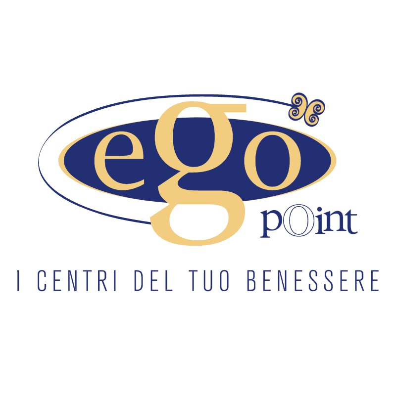 Ego point vector logo
