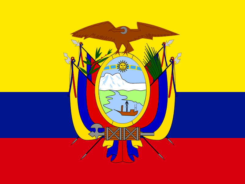 Flag of Ecuador logo