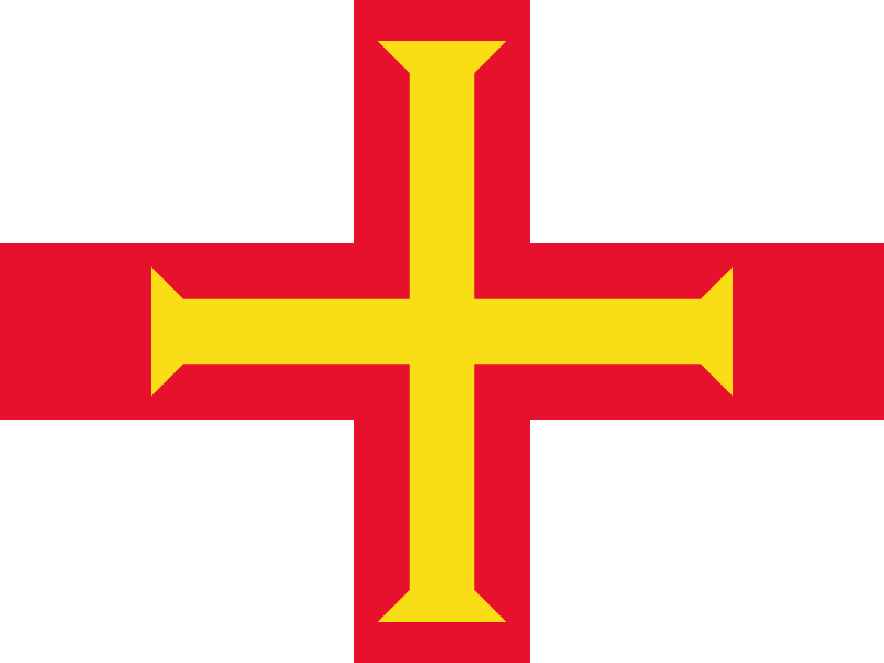 Flag of Guernsey logo