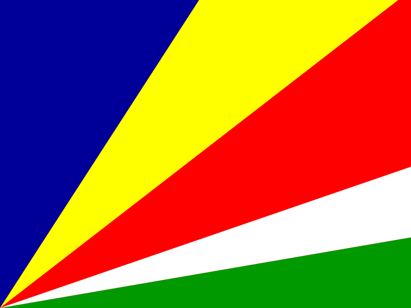 Flag of Seychelles vector logo