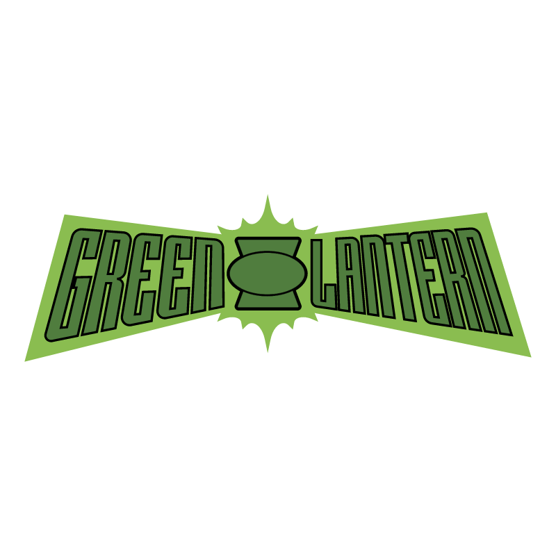 Green Lantern vector logo