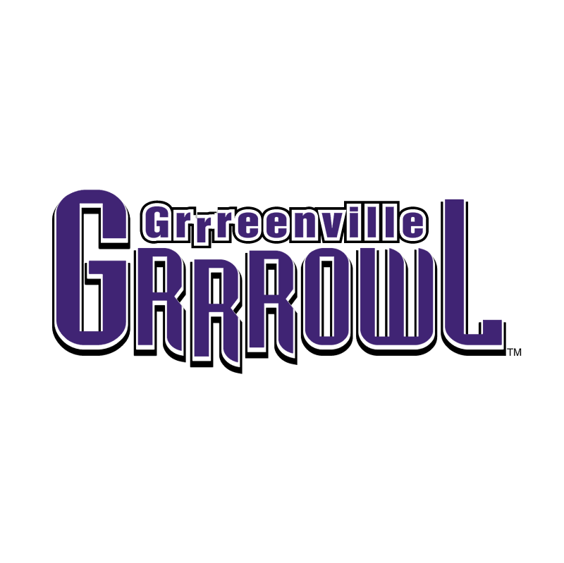 Greenville Grrrowl vector logo