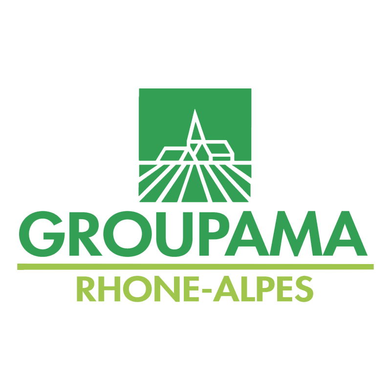 Groupama Rhone Alpes vector logo