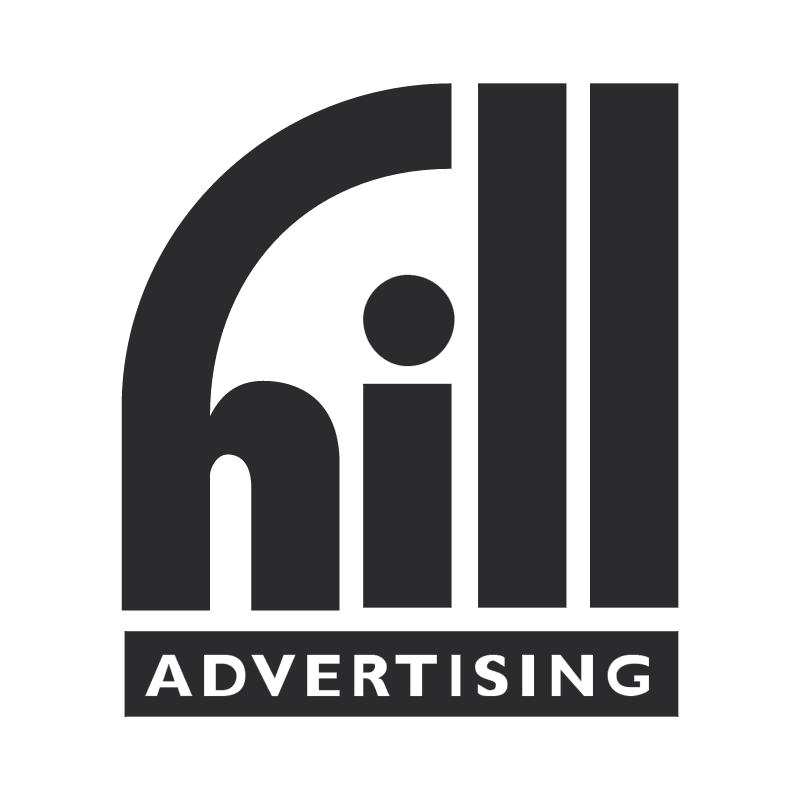 Hill Advertising vector