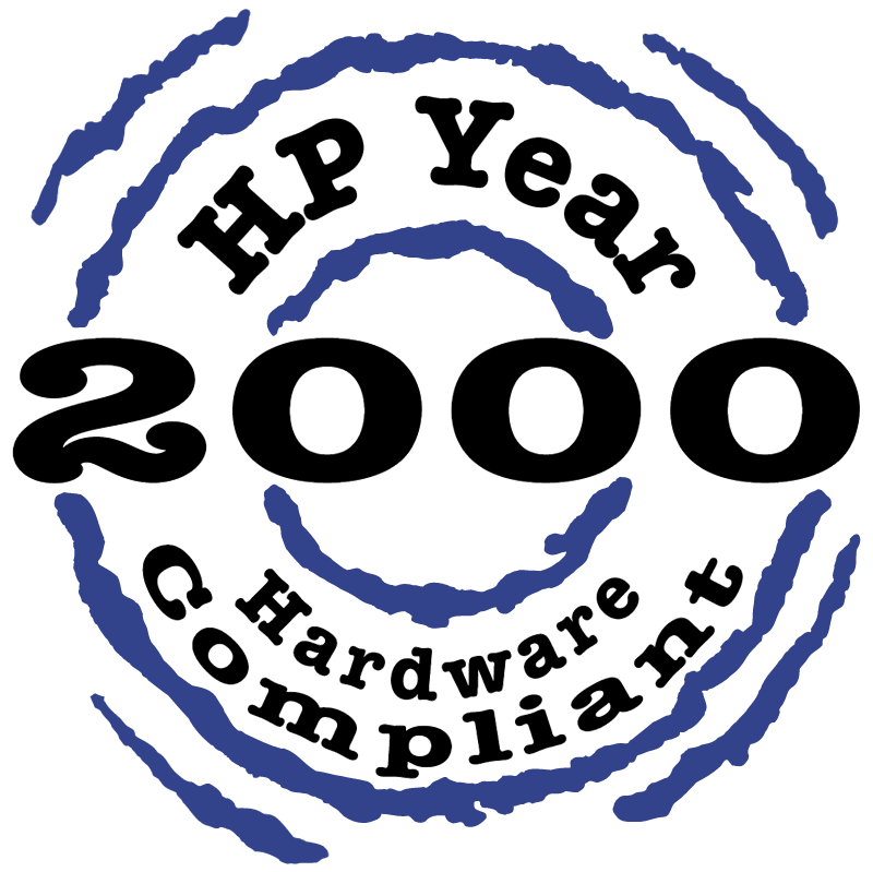 HP 2000 Hardware Compliant vector logo