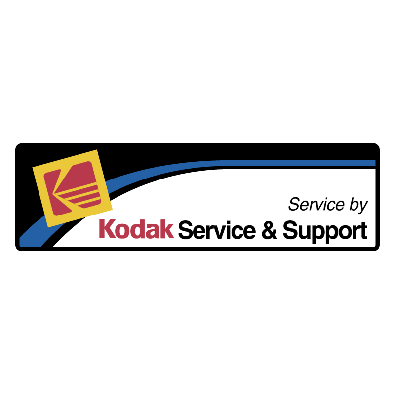 Kodak Service & Support vector logo