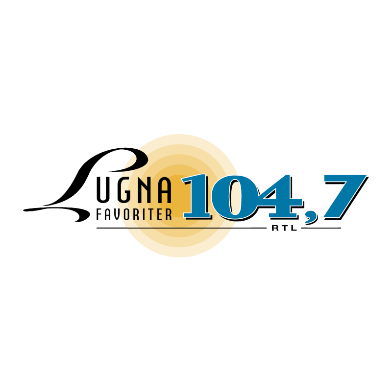 Lugna Favoriter 104 7 vector logo