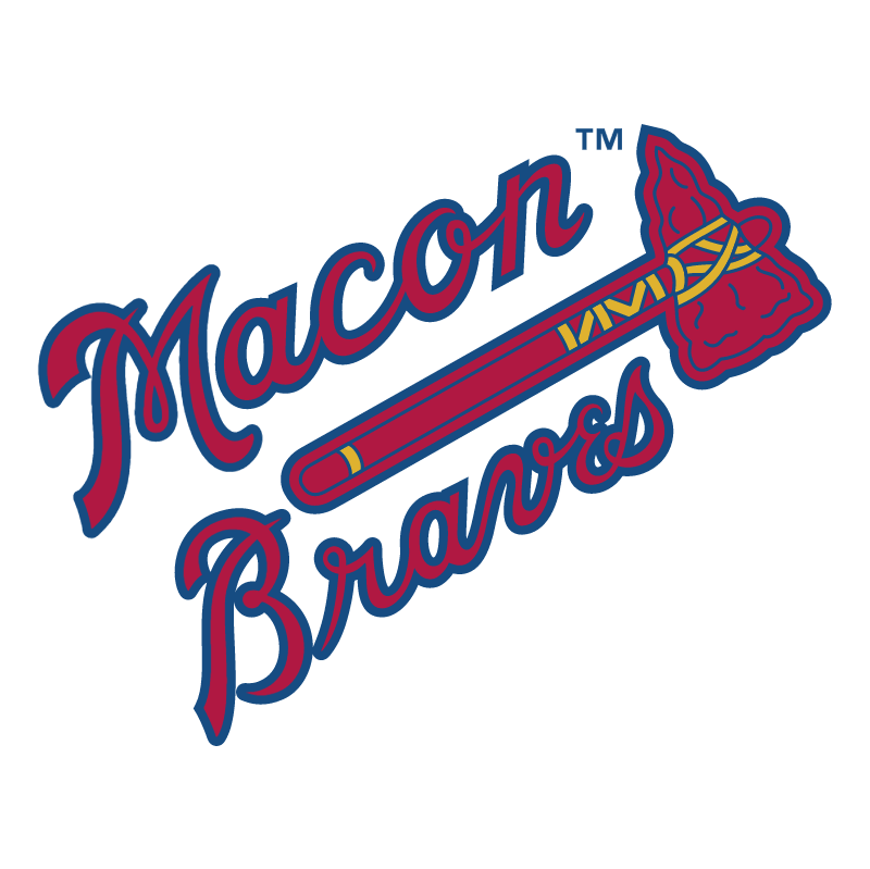 Macon Braves vector