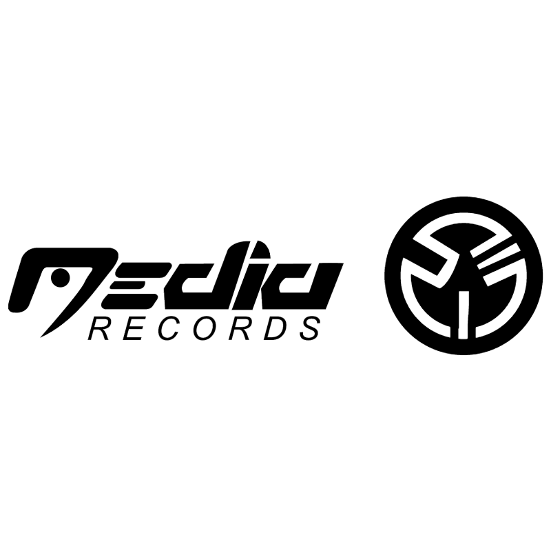 Media Records vector logo