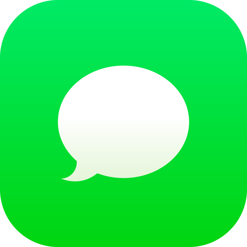 Messages iOS vector