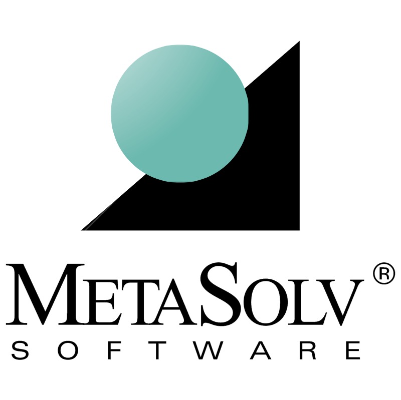 MetaSolv Software vector logo