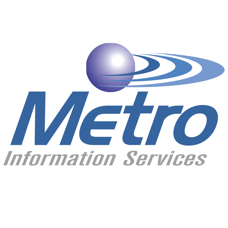 Metro Information Services vector