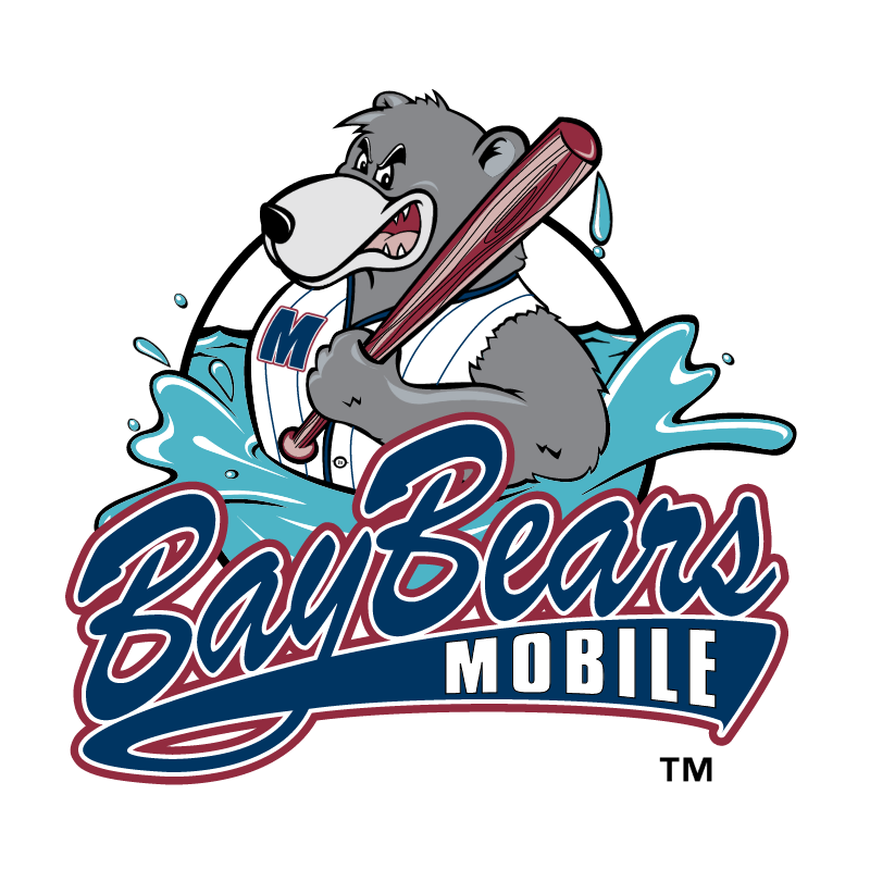 Mobile BayBears vector logo