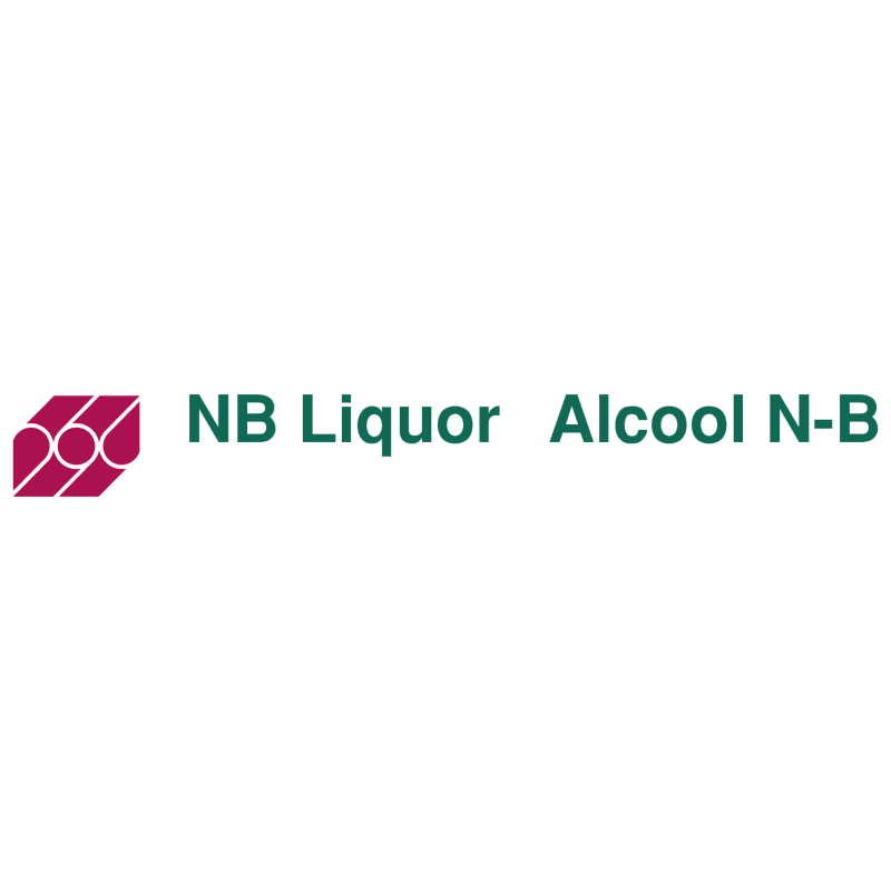 NB Liquor Alcool N B vector