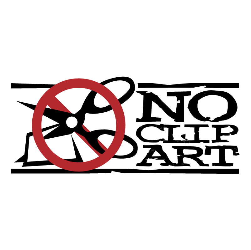 No Clip Art vector