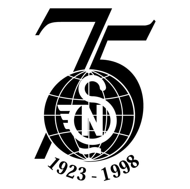 Novi Sad 75 Years vector logo