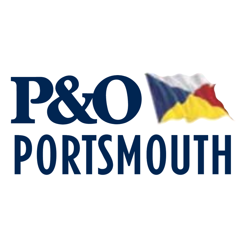 P&O Portsmouth vector