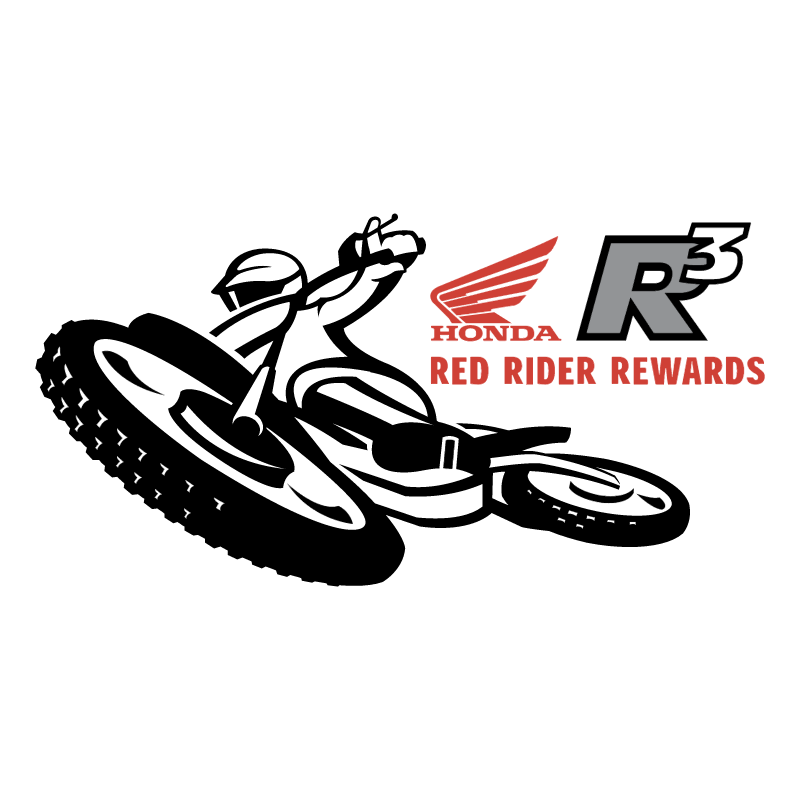 Red Rider Rewards vector