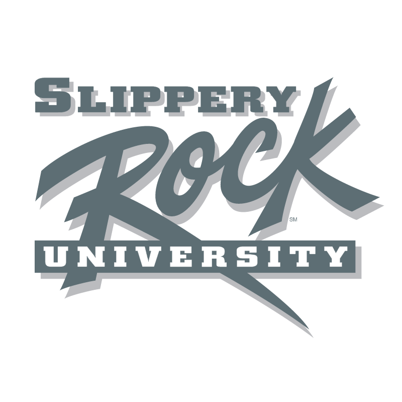 Slippery Rock University vector logo