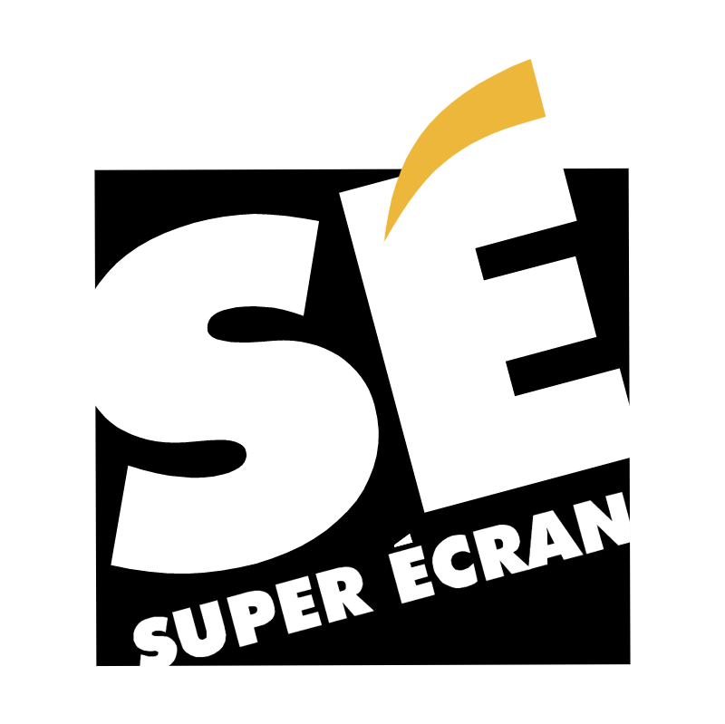 Super Ecran vector
