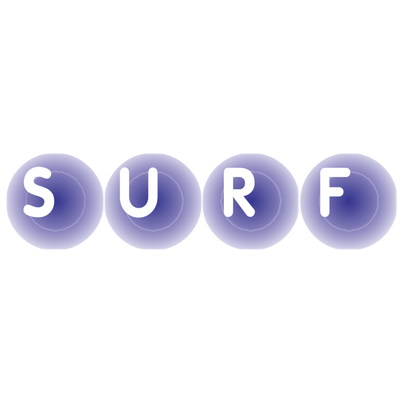 SURF vector logo