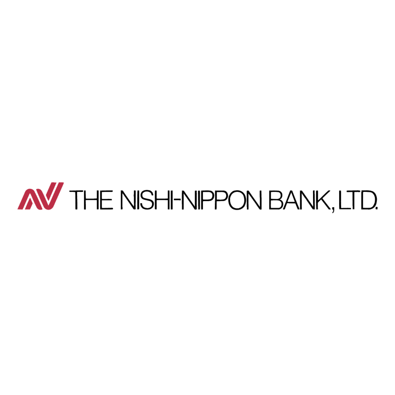 The Nishi Nippon Bank vector