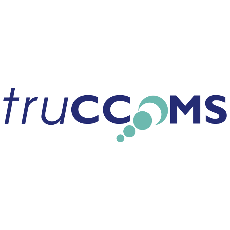 Truccoms vector logo