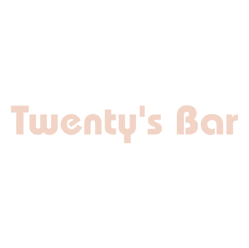 Twenty's Bar vector