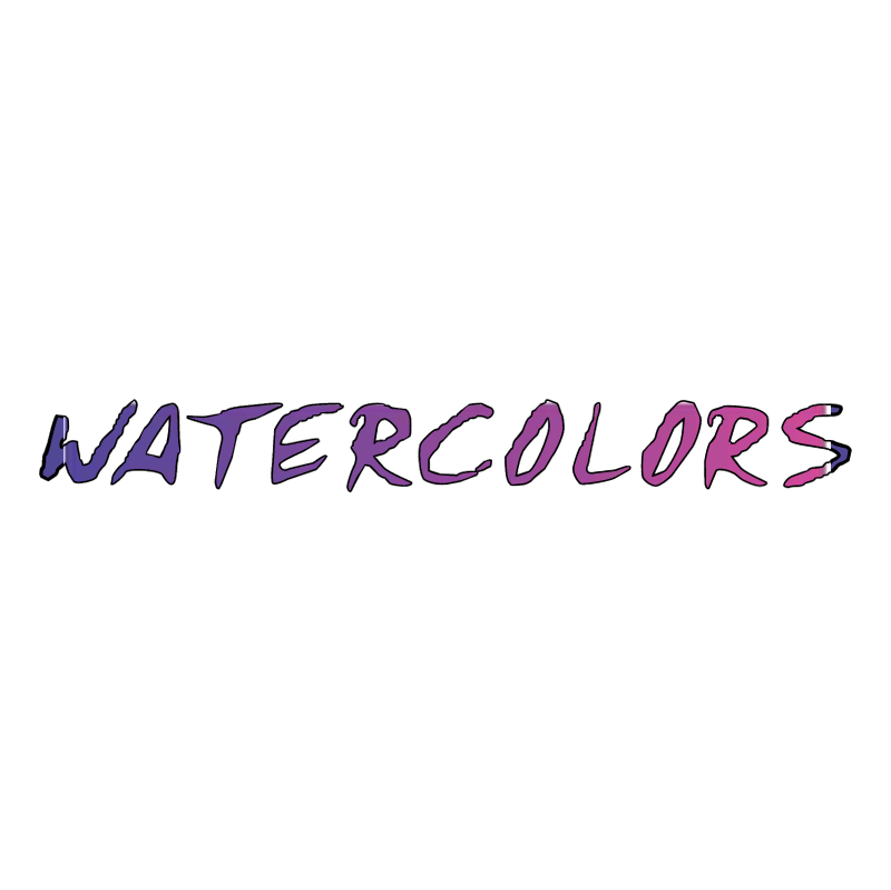 Watercolors vector