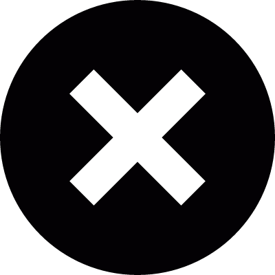 Cancel button logo