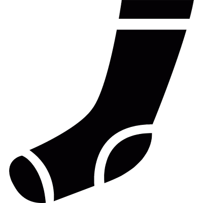 Athletic sock logo