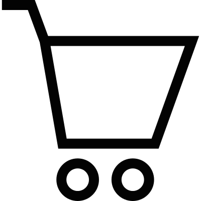 Empty shopping cart logo