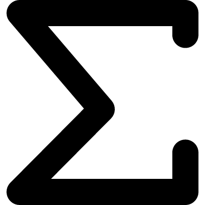 The sum of mathematical symbol logo